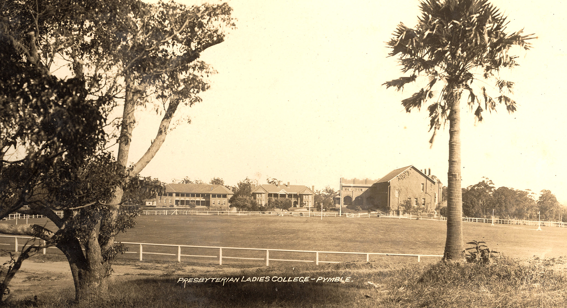Presbyterian Ladies College, Pymble in the 1920's
