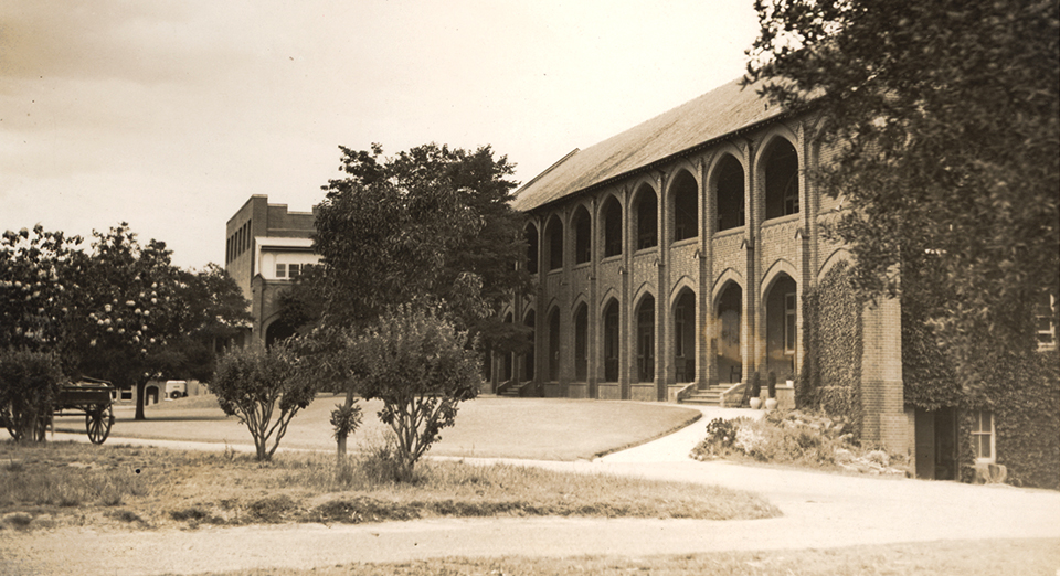 The Colonnade circa 1940