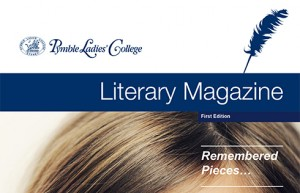 Literary Magazine Pymble Ladies' College