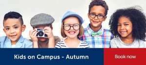 Kids on Campus Autumn Holiday Childcare - Book a spot