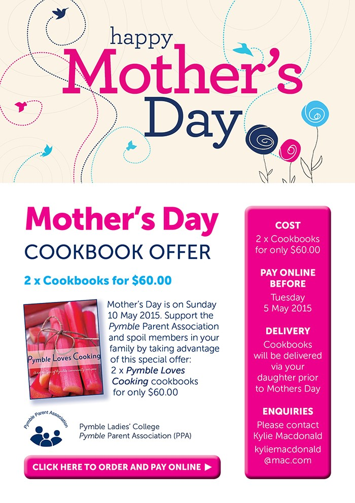 Mother's Day Cookbook Special