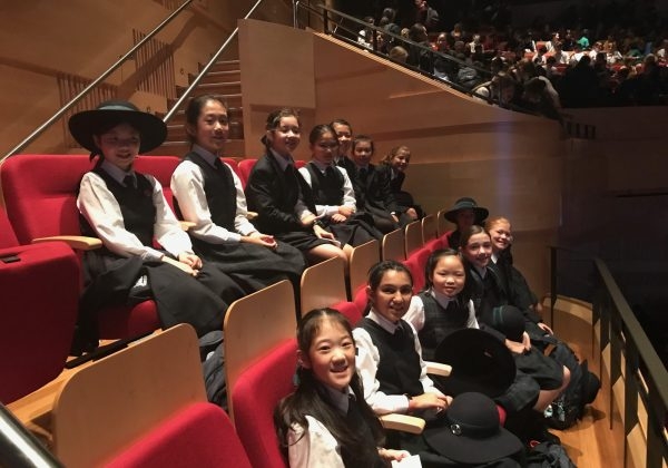 Junior School girls are Inspired at the Sydney Writers' Festival