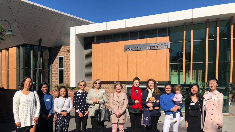 Ex-student Tour and Morning Tea