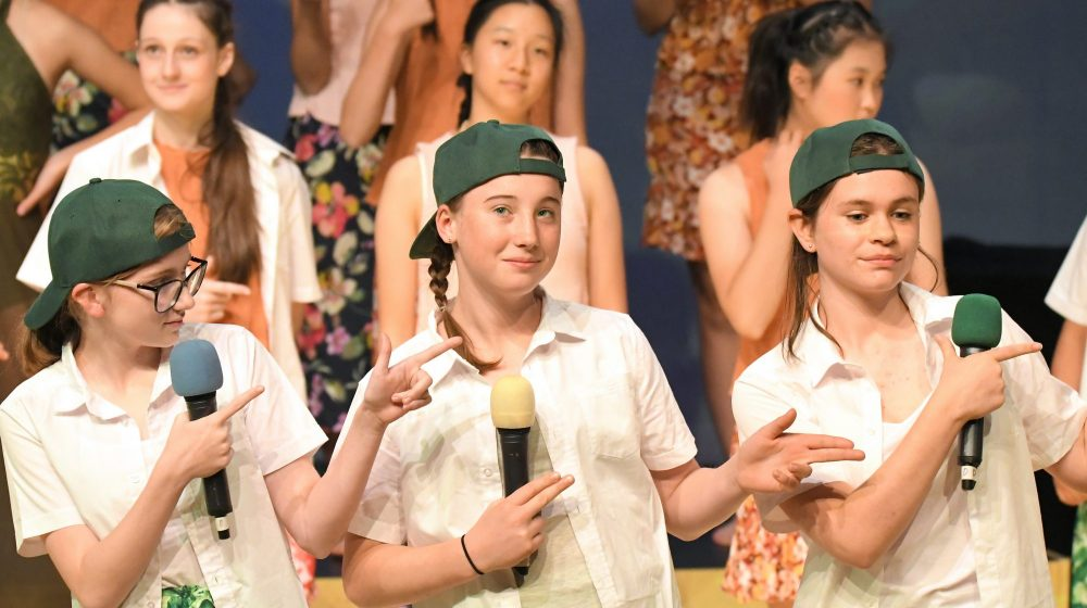 Year 8 Elective Music Students Perform Moana