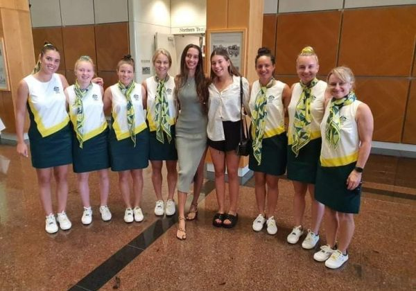 Hockeyroos up close for one of our Boarders